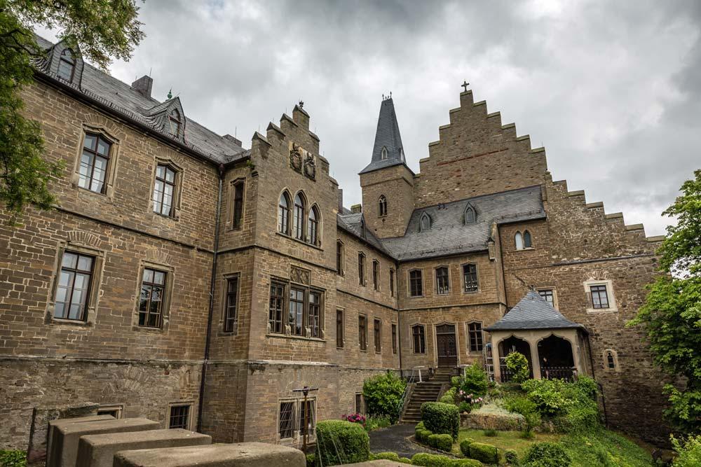 Mansfeld-Lutherstadt - Jugendbegegnungsstätte Schloss Mansfeld