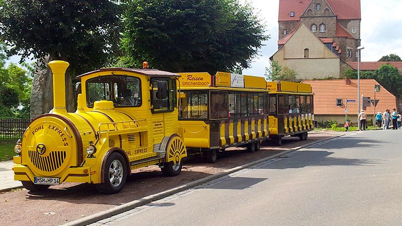 Anreise & Mobilität - Tschu-Tschu-Bahn