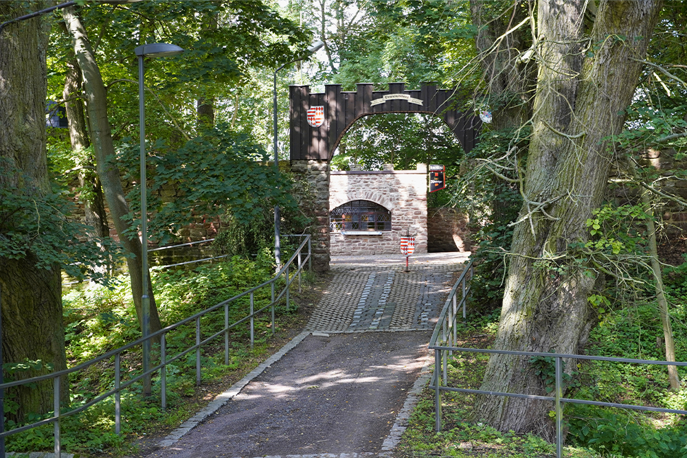Eingangsportal der Schweinsburg ©SMG