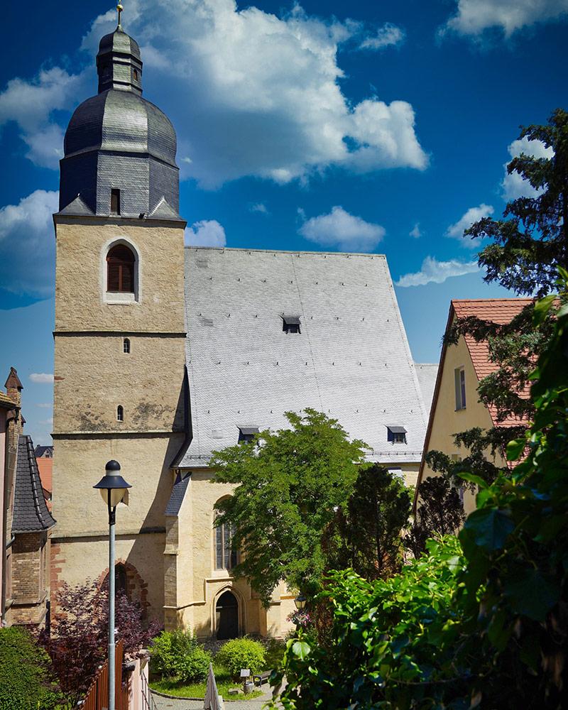 Eisleben - St.Petri-Kirche Zentrum Taufe