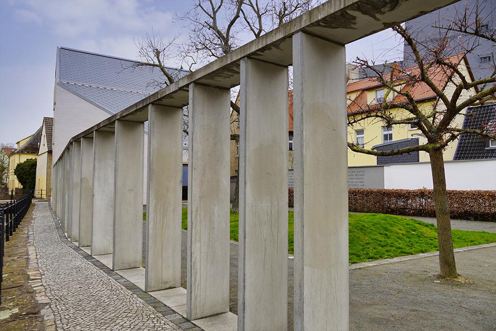 Seitenansicht des Schöpfungsgartens, Lutherstadt Eisleben