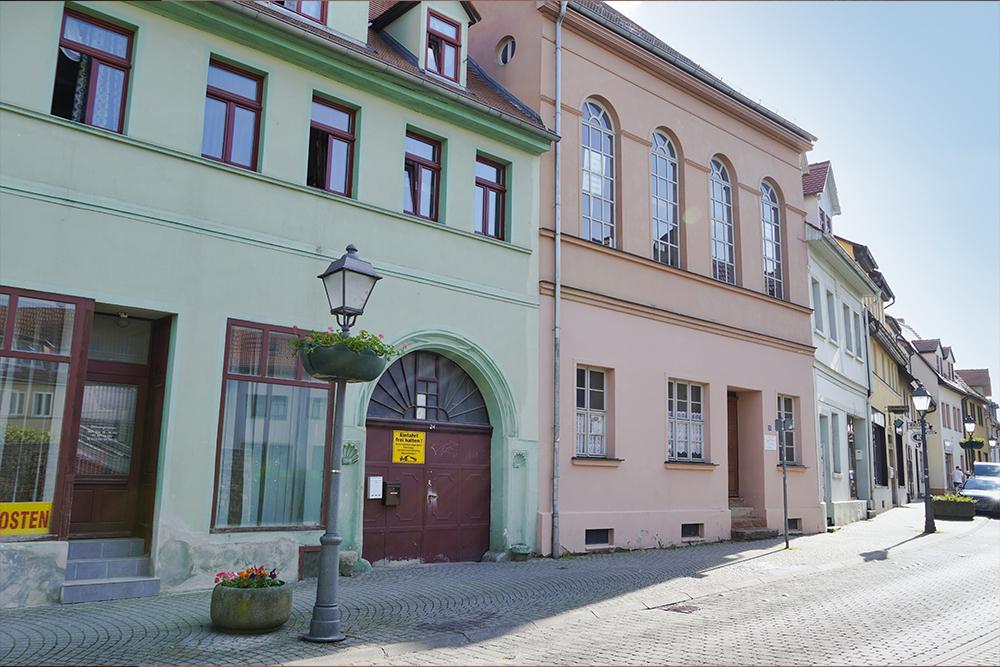 Die alte Synagoge, Alte Synagoge, Lutherstadt Eisleben ©SMG