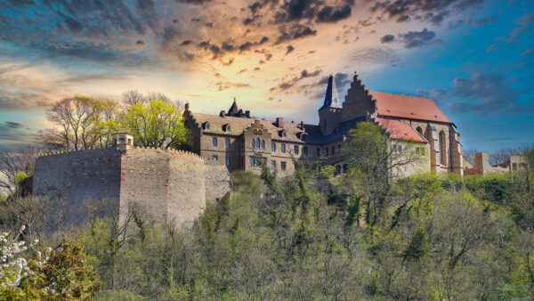 Mansfeld - Burgberg / Schloss Mansfeld