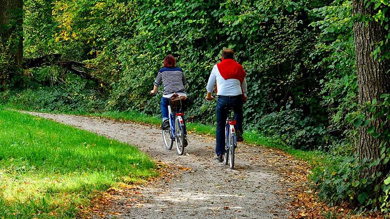 Anreise & Mobilität - Radrouten