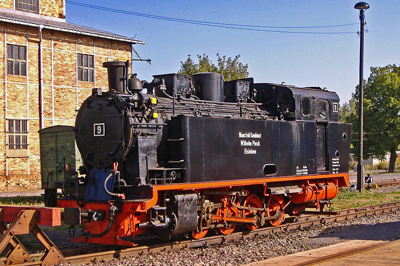 Mansfelder Bergwerksbahn - Dampflokomotive