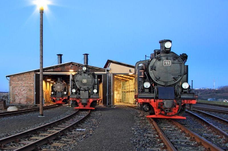 Mansfelder Bergwerksbahn - Lokschuppen
