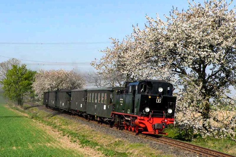 Mansfelder Bergwerksbahn - Personenzug