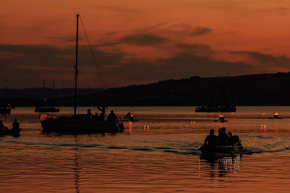 Mansfelder Land - Abendstimmung am Süßen See