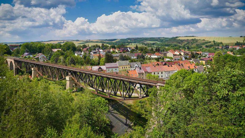 Natur & Abenteuer - Mansfeld Viaduktblick